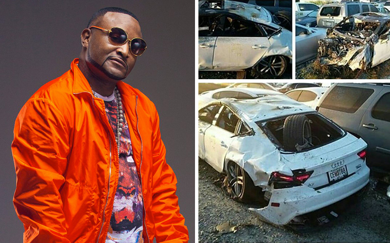 Shawty Lo Dead Photos Show Rapper S Mangled Car After