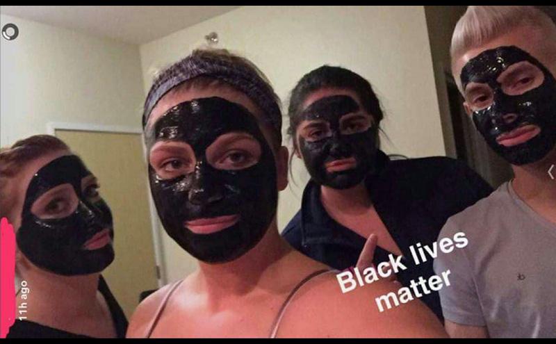 und-racist-black-lives-matter-blackface-photo