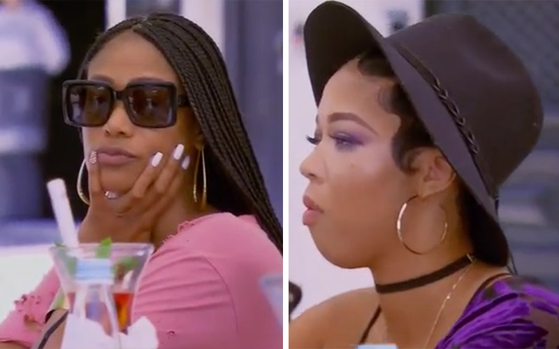 basketball wives l a recap duffey and tami fight