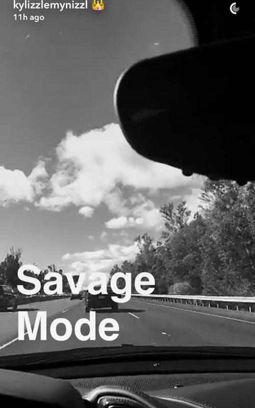 Kylie-Jenner-21-Savage-Snapchat