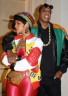 "Beyoncé as ""Salt-N-Pepa"" and Jay Z as Dwayne Wayne from ""A Different World"" for Halloween (2016)"