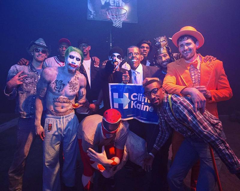 e6a20e9a930 LeBron James Trolled the Warriors at His Halloween Party