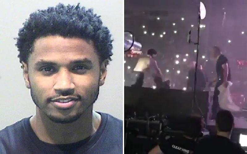 Trey-Songz-Arrest