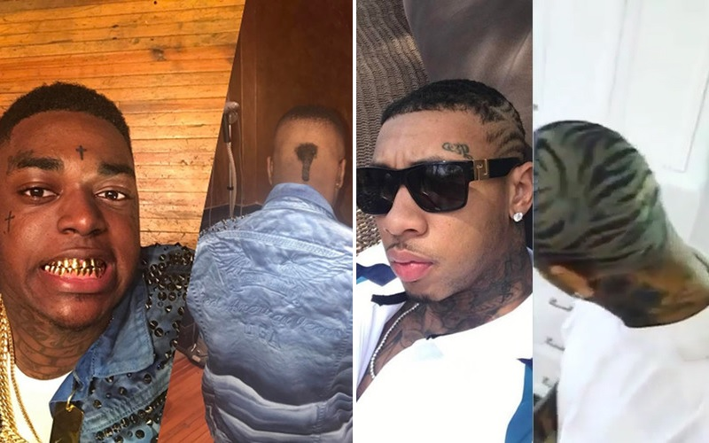 Kodak-Black-Tyga-Haircuts