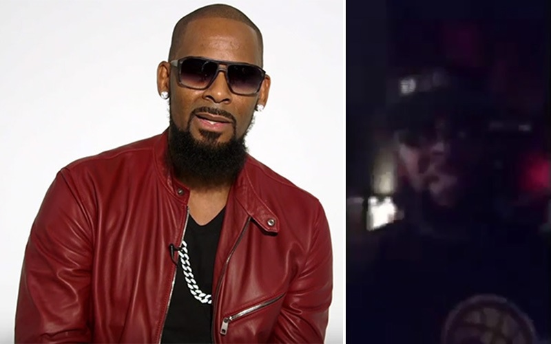 R. Kelly Denies Sex Cult Allegations in Creepy Video to ...