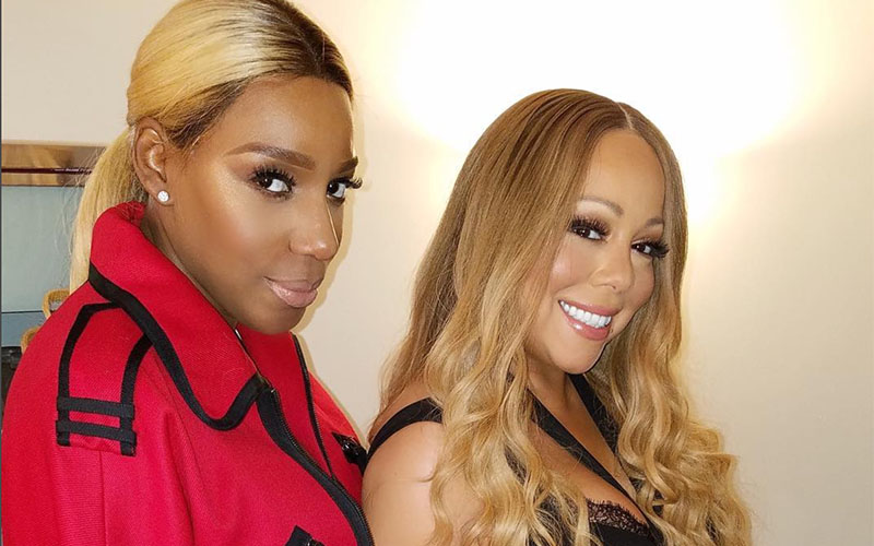 Divas Unite Nene Leakes Meets Mariah Carey