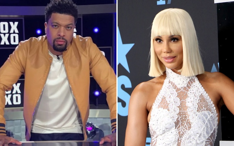"Tamar Braxton Reportedly Went Off On DeRay Davis While Filming VH1's ""Hip Hop Squares"""
