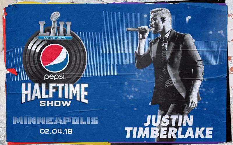 Super Bowl Halftime Show 2018 Justin Timberlake