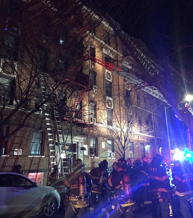 Ny Apt: Bronx, New York Apartment Fire: Photos & Videos From The Scene