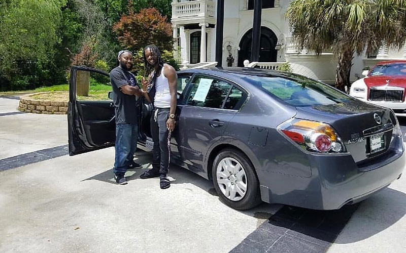 """06 Nissan Altima >> Offset Bought a Car For the Man Who Helped Him After His Accident: """"He Saved My Life ..."""