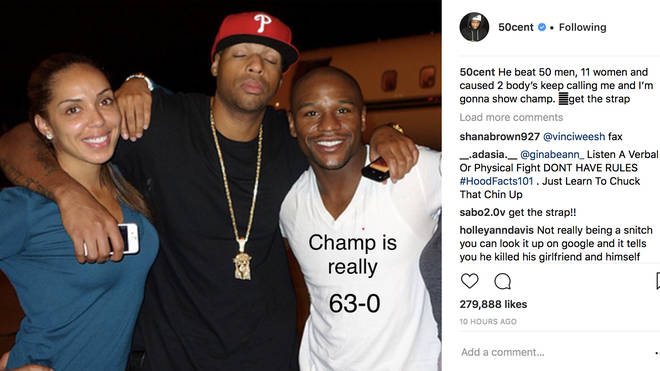 50 Cent Says Floyd Mayweather Slept With Friend Earl Hayes