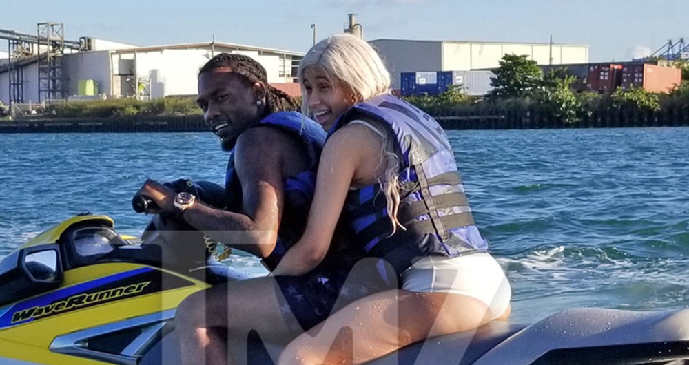 Cardi B Explains Jet Ski Photo With Offset I Just Had To Get F