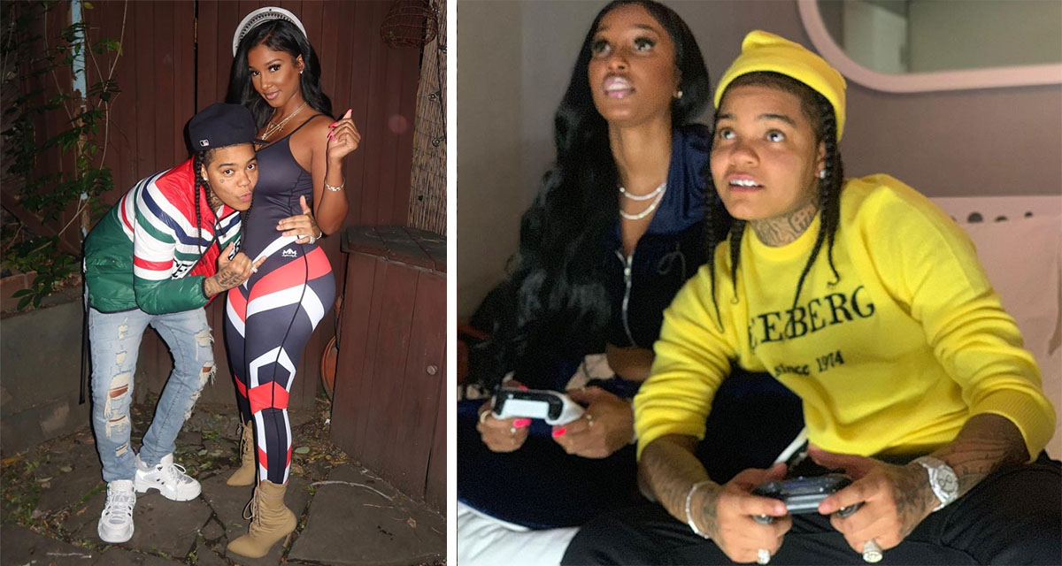 Has T.I.'s Former Mistress Bernice Burgos Turned Lesbian With Young M.A.?