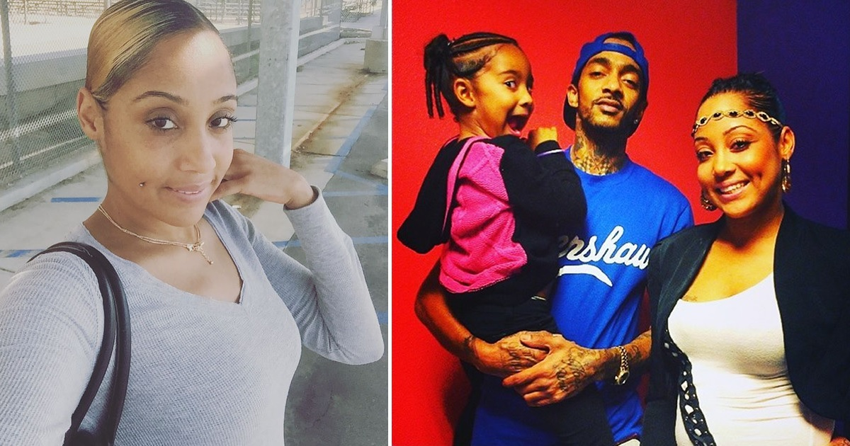 Nipsey Hussle Fans Show Love to His First Baby Mama Tanisha