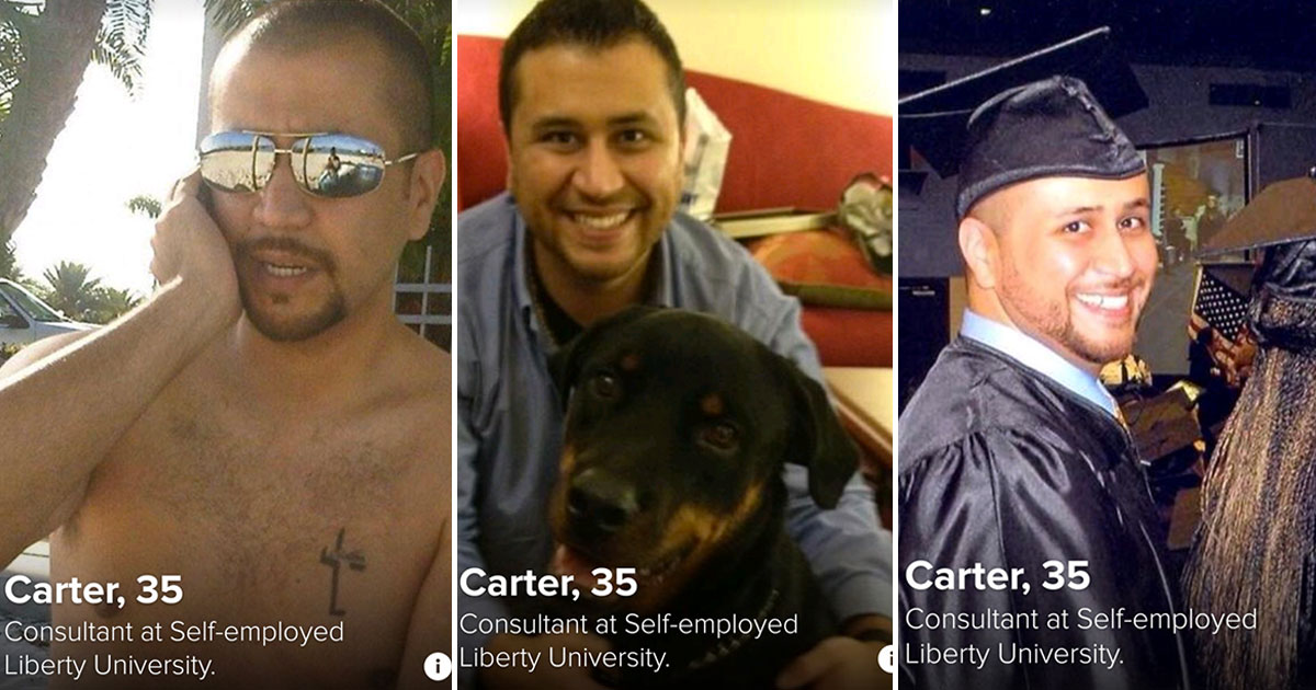 George Zimmerman Got Kicked Off Tinder After He Was Caught