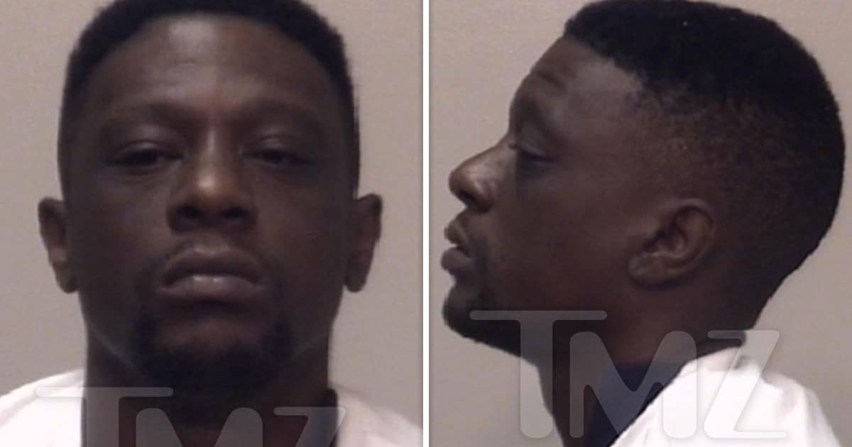 Boosie Badazz Arrested on Felony Drug & Gun Charges in Georgia