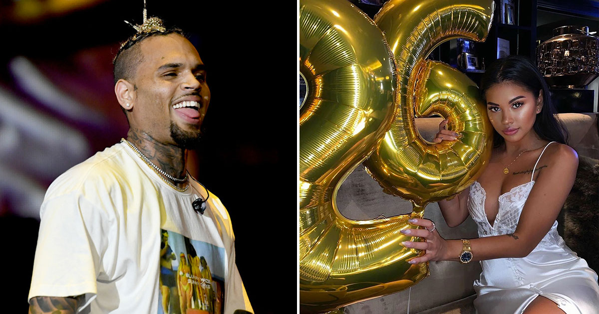 Chris Browns Ex Girlfriend Ammika Harris Fuels Pregnancy Rumors With Most Beautiful Gift Birthday Comment Possible Baby Bump