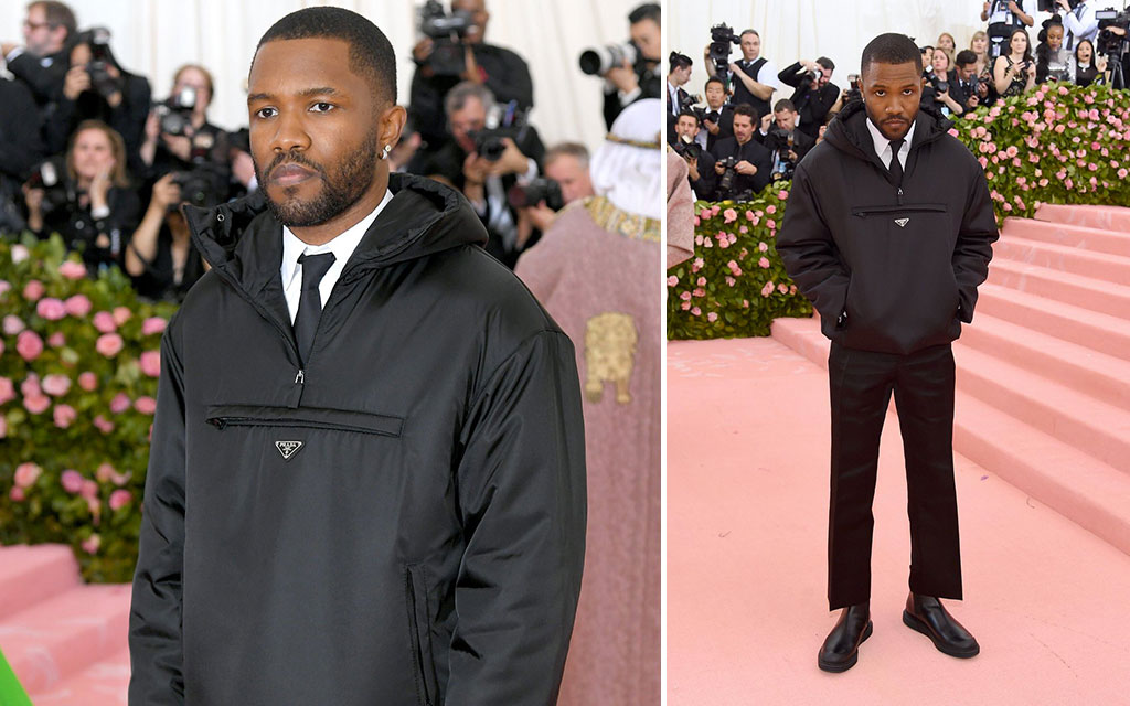 Frank Ocean Disappoints Fans After Showing Up At The 2019 Met Gala