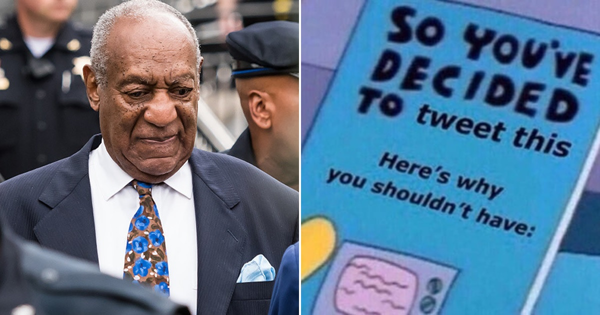 "Bill Cosby Called Himself ""America's Dad"" in Bizarre Father's Day Tweet and Twitter Was NOT Here for It"