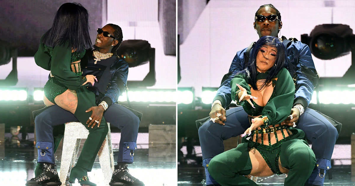 Cardi B Gives Offset A Lap Dance Onstage At Bet Awards: WATCH: Cardi B Gives Offset A Lap Dance During 2019 BET