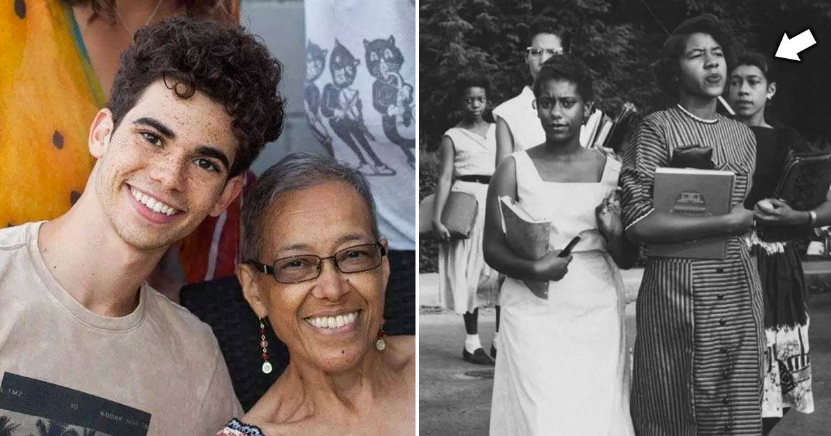 Cameron Boyce S Grandmother Was Part Of The Clinton 12 In Tennessee