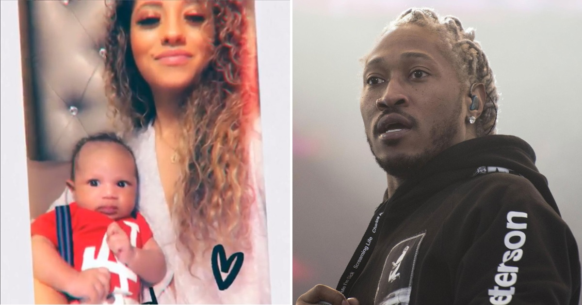 Image result for images of Future sued by lady claiming to be his 7th baby mama