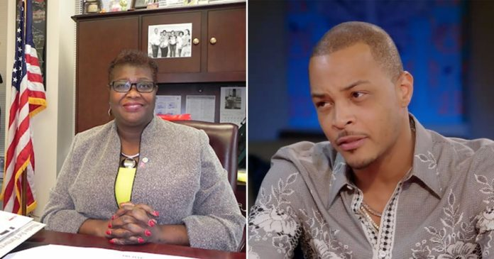 Image result for images of New York State Lawmakers want virginity check-up to be banned after T.I. controversial interview