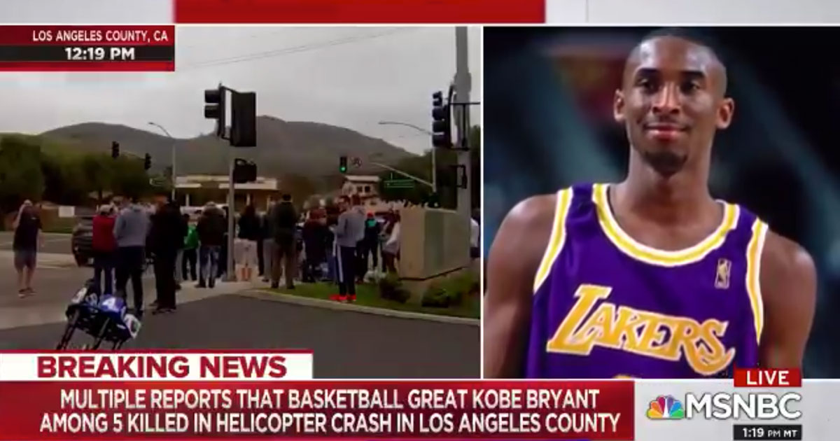 MSNBC News Anchor Says N-Word While Reporting on Kobe ...