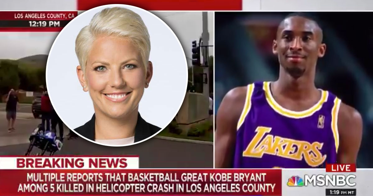 MSNBC Reporter Drops 'N' Word Reporting Kobe Bryants Death!?