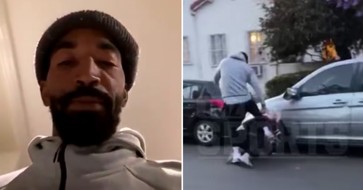 """J.R. Smith Beats Up """"One of These Little MFin White Boys"""" After ..."""