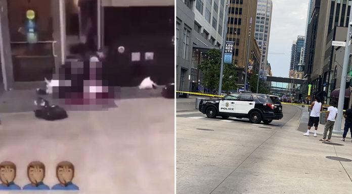 Residents of Shooting Accuse Minneapolis  Man in Black Cops