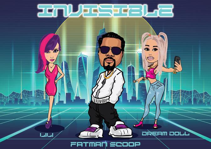 """Fatman Scoop, DreamDoll & LiLi - """"Invisible"""""""